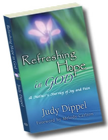 Judy Dippel Refreshing Hope in God Book